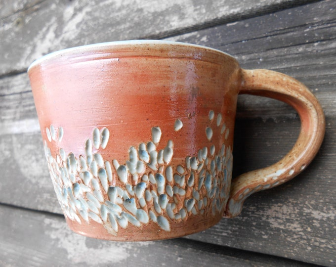 Seaside Sunrise Wood Fired Ceramic Mug