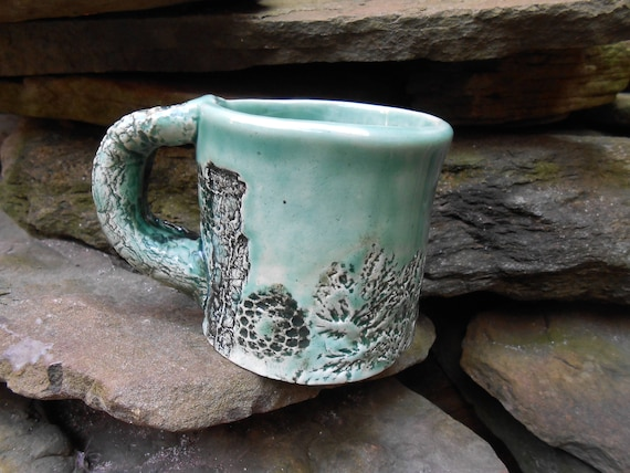 Forest Floor Clay Mug
