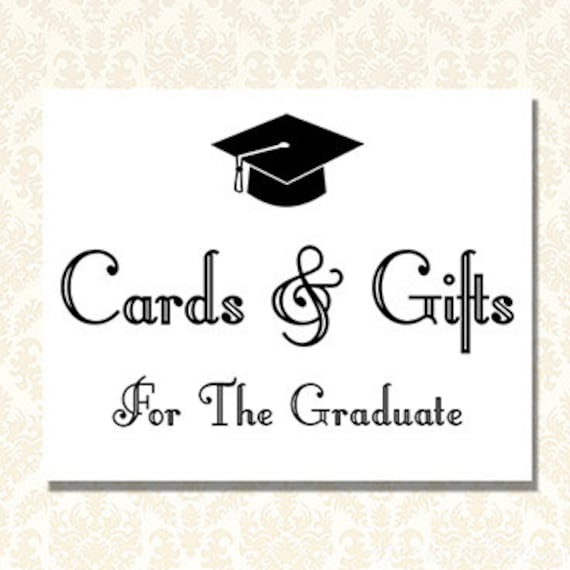 photograph about Graduation Printable Cards identify Commencement Bash Decorations, Cl of 2019, Printable Playing cards and Presents For The Graduate Signal, Commencement Indications, Electronic Obtain