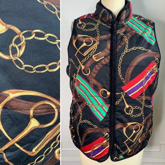 Vintage Ralph Lauren Reversible Quilted Vest