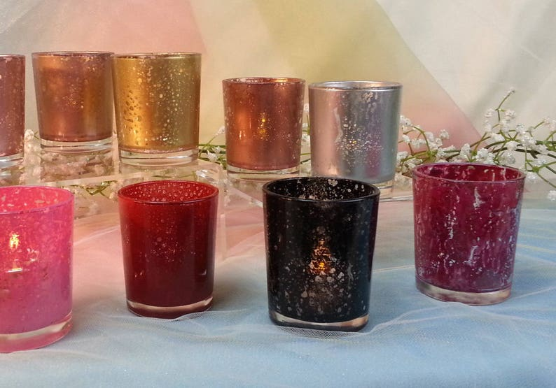 50 per/ Rose Gold Silver Copper Burgundy Black Red Mercury image 0