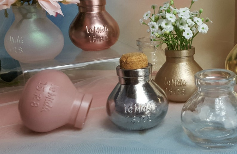 3per/ Small Vintage Vases Jars Hanging Wedding Reception image 0