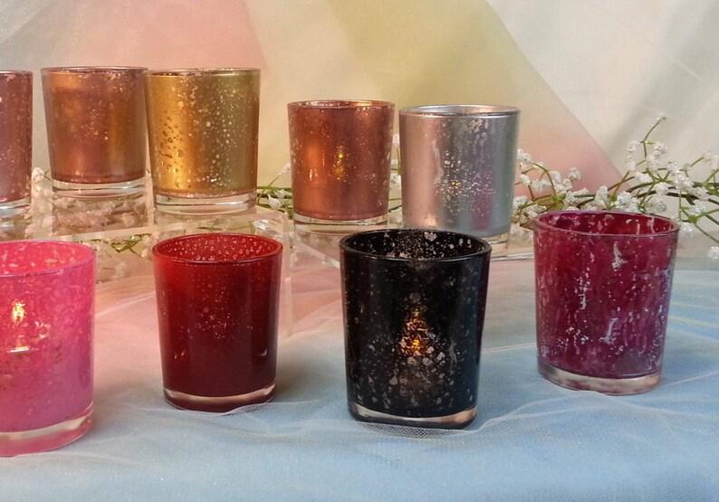 5 per/ Sampler / Rose Gold Silver Copper Burgundy Black Red image 0