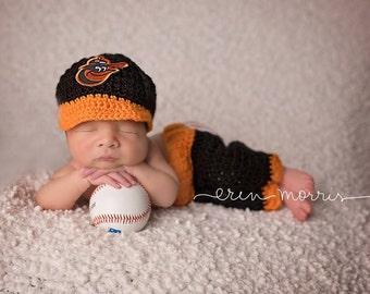 Baby Baseball Team Baltimore Orioles St. Louis Cardinals 09c0999c1dd
