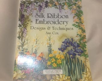 Silk Ribbon Embroidery (Designs and Techniques) by Ann Cox, 2002 Paperback