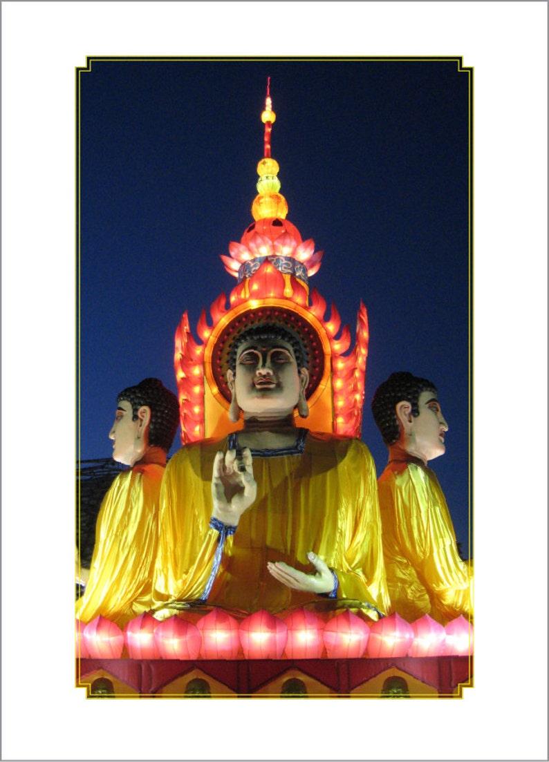 Buddha Chinese Lantern Festival image 0