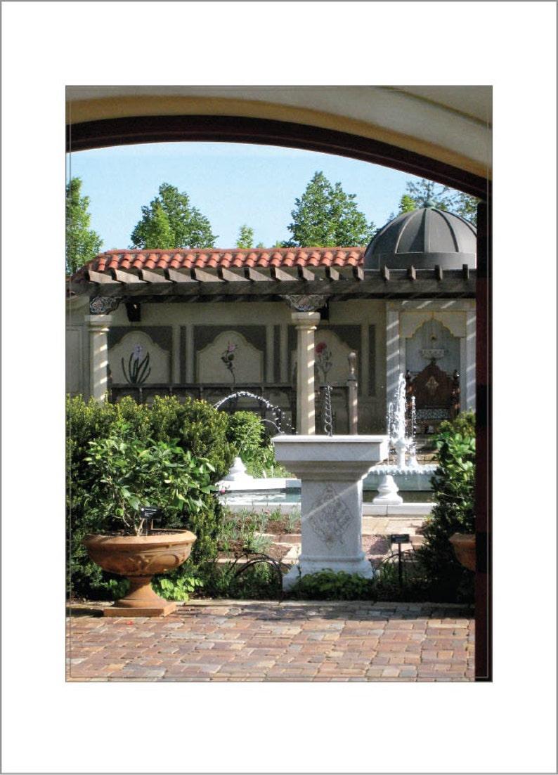 Ottoman Garden Missouri Botanical Garden image 0