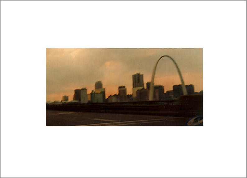 Driving Into St. Louis Arch from the Interstate Are We There image 0