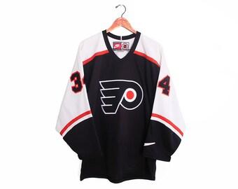 b52383638 vintage jersey   Philadelphia Flyers   NIKE jersey   1990s Philadelphia  Flyers John Vanbiesbrouck NIKE hockey jersey Medium