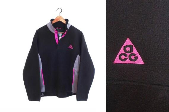 vintage sweatshirt / ACG fleece / 90s fleece / 199