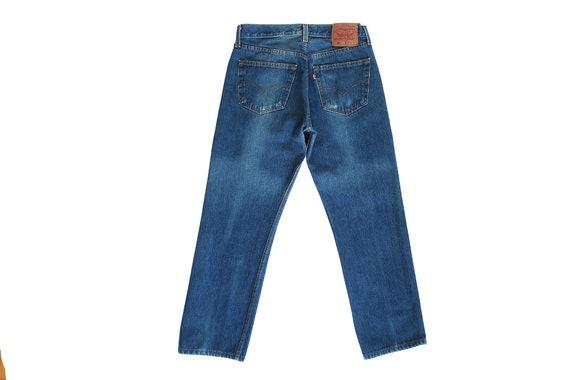 vintage Levis denim / Levis 501 / high waist jean… - image 4