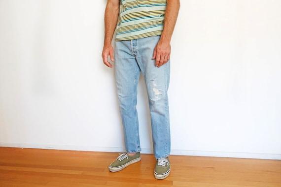 vintage Levis denim / Levis 501 / high waist jean… - image 1