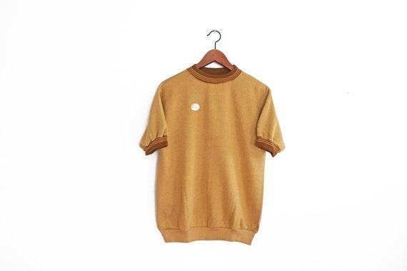 vintage sweatshirt / 70s sweatshirt / ringer sweat