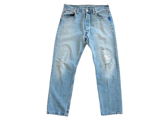 vintage Levis denim / Levis 501 / high waist jean… - image 2