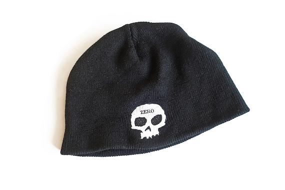 vintage beanie / Zero skull beanie / 90s skateboa… - image 1