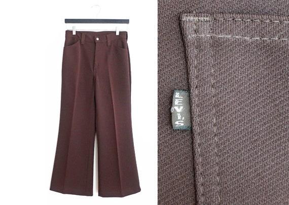 vintage Levis / wide leg pants / Levis Big E / 196