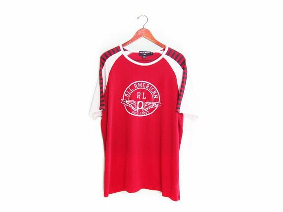 vintage t shirt / POLO Sport shirt / jersey shirt
