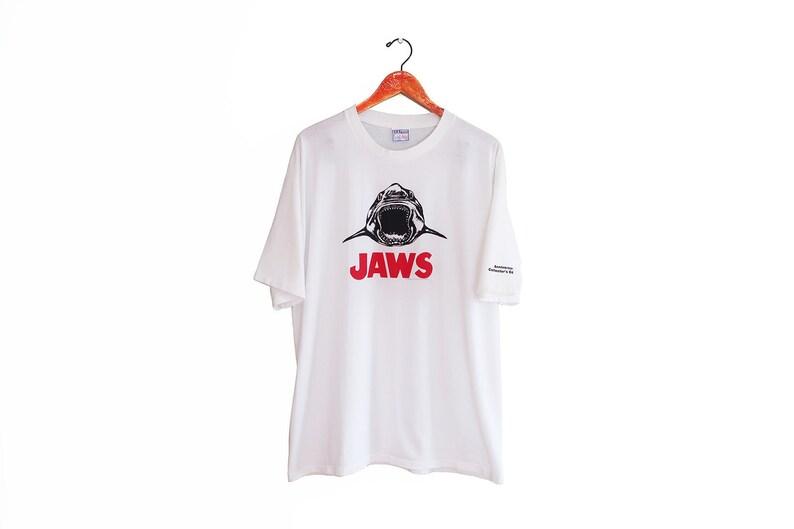 Vintage t shirt   JAWS shirt   vintage shark shirt   1990s  ead7809ab