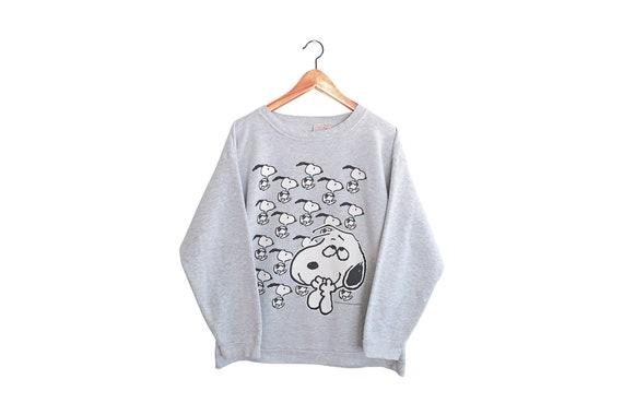vintage sweatshirt / Snoopy sweatshirt / Peanuts s