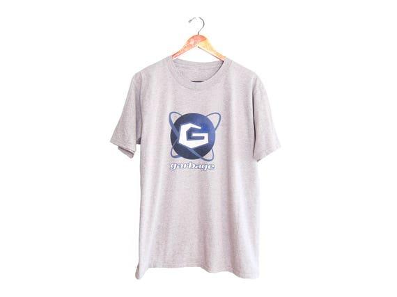 vintage t shirt / Garbage t shirt / 90s band t shi