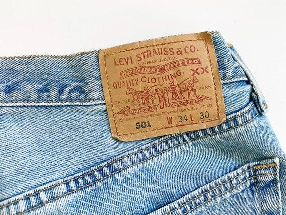 vintage Levis denim / Levis 501 / high waist jean… - image 7