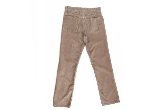 vintage Levis pants / Levis corduroy / corduroy p… - image 4
