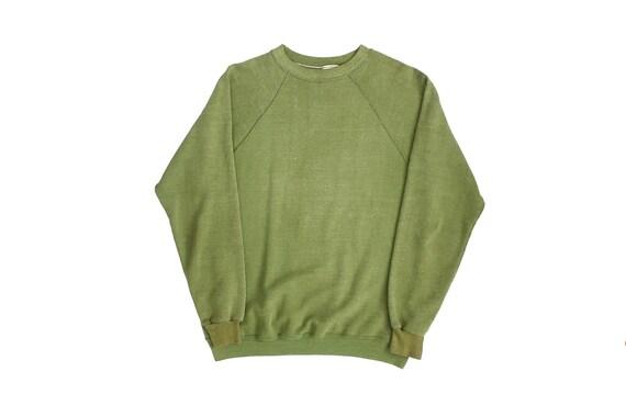 vintage sweatshirt / raglan sweatshirt / 60s sweat