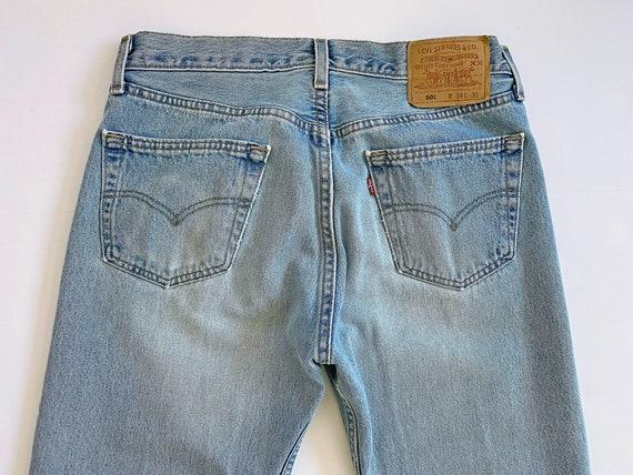 vintage Levis denim / Levis 501 / high waist jean… - image 6