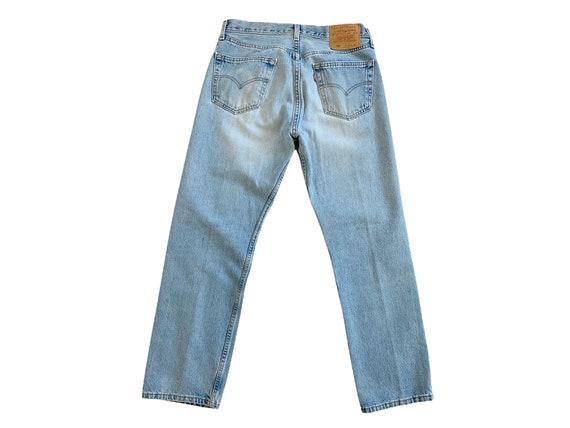 vintage Levis denim / Levis 501 / high waist jean… - image 5