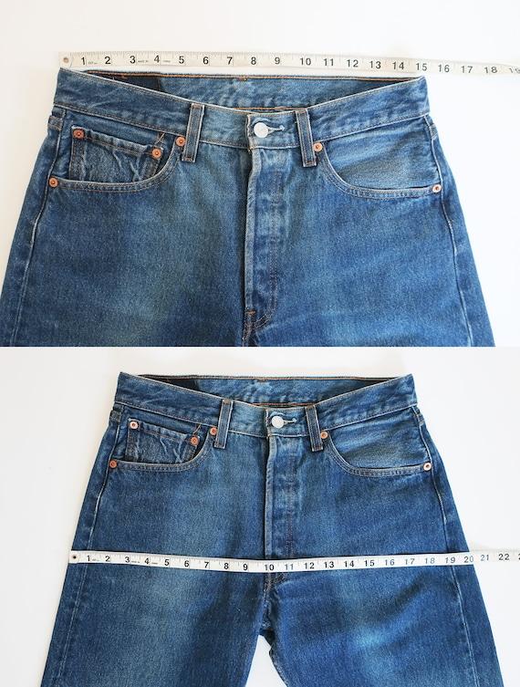 vintage Levis denim / Levis 501 / high waist jean… - image 3