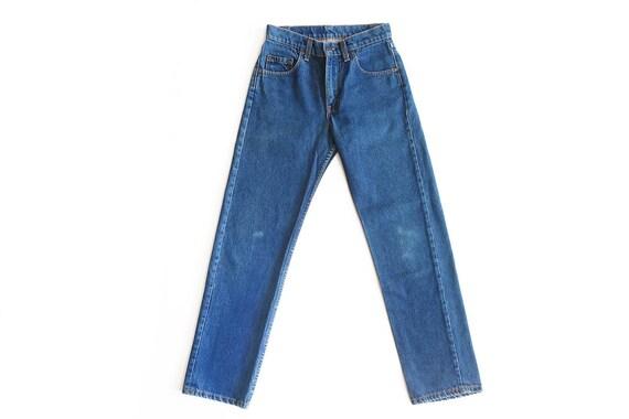 vintage Levis denim / Levis 505 / high waist jeans