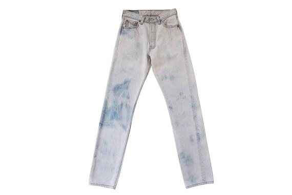 vintage Levis denim / Levis 501 / high waist jeans