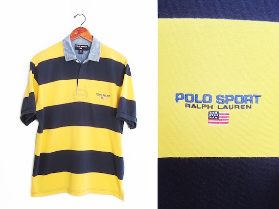 2234263f019 Vintage polo shirt / POLO SPORT shirt / 90s polo shirt / 1990s | Etsy