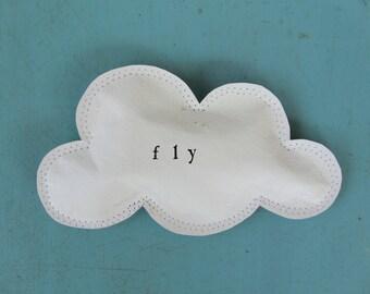 Cloud Art Fly paper cloud wall hanging