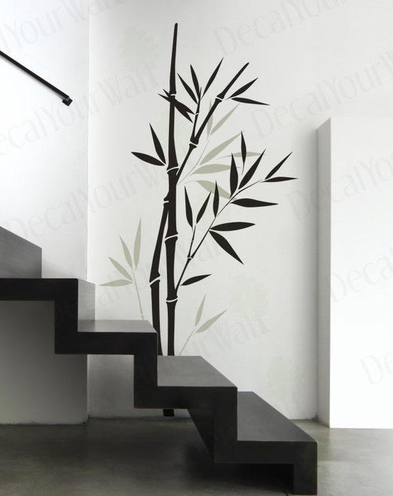 Bamboo Wall Decal Bedroom Living room Nursery Wall Art Vinyl   Etsy