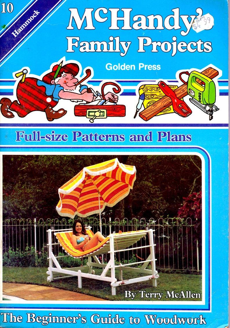 Vintage 1980s Golden Press McHandys Family Projects On Sale Part 10 Hammock