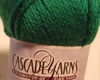 Cascade Pacific green color 56 yarn