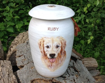 CUSTOM Dog Urn 100 lb Pet
