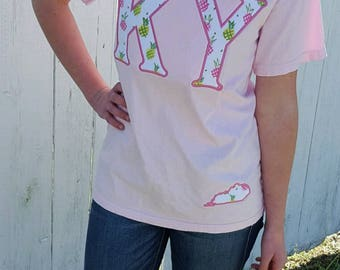 State Pride Applique Tee Shirts