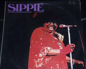 Lp Record: Sippie Wallace blues album...brought to you by Internetrecords