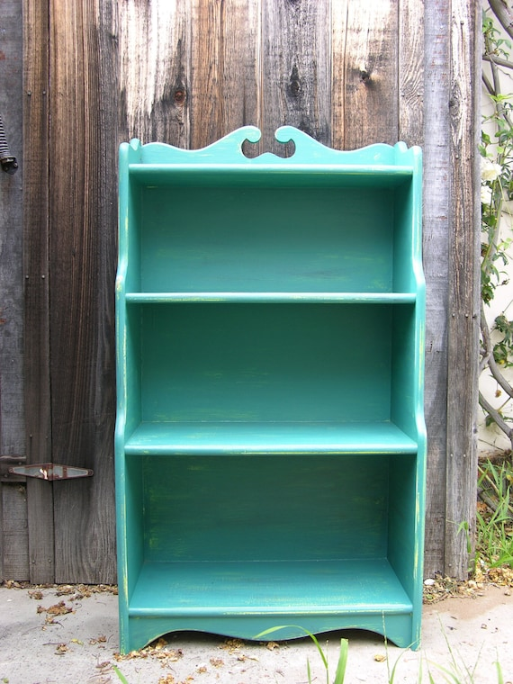 newest b57d9 5ab0a Turquoise bookshelf
