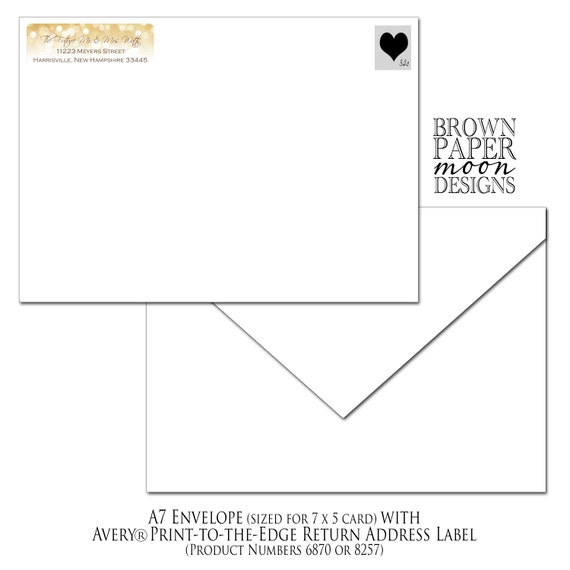 white gold sparkles return address labels 3 4x2 1 4 etsy