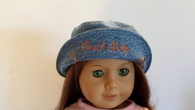 4c7857d4767 Another Fun Summer Beach Baby Denim Bucket Hat Fit