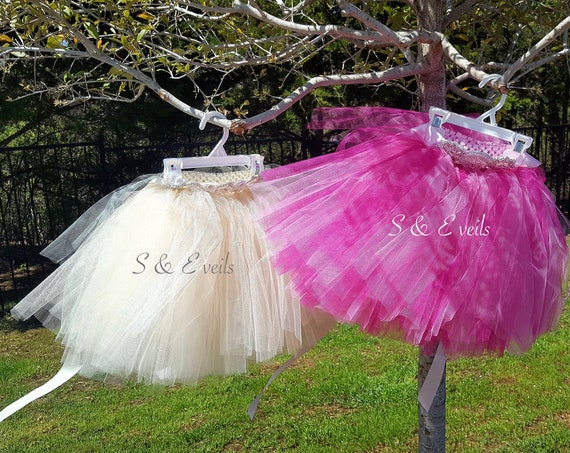 Tutu Skirt for girls with belt