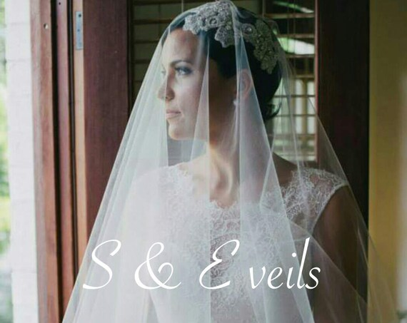 Cathedral Drop Wedding Veil