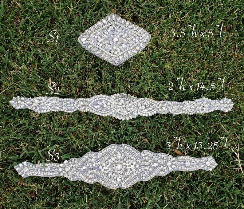 Wedding Dress Belt Sash image 0