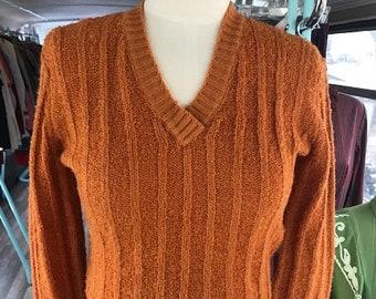 c29620f7f0 Vintage Orange Sweater