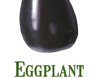 Vintage Eggplant Print Digital Download / Jpeg of Vintage Eggplants / Plant and Botanical Images / Vintage Vegetable Prints