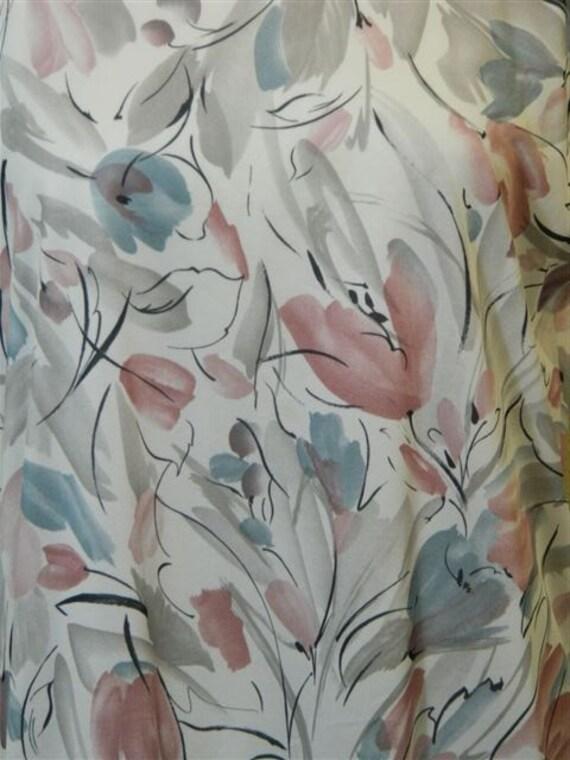 Vintage Plus Size Floral Dress, 1980s Vintage Dre… - image 7