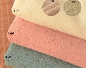 Polyester Cotton Blend fabric, Diamond lattice Patern, Soft, Thin Cotton Fabric 1/2 yard  (QT1259)